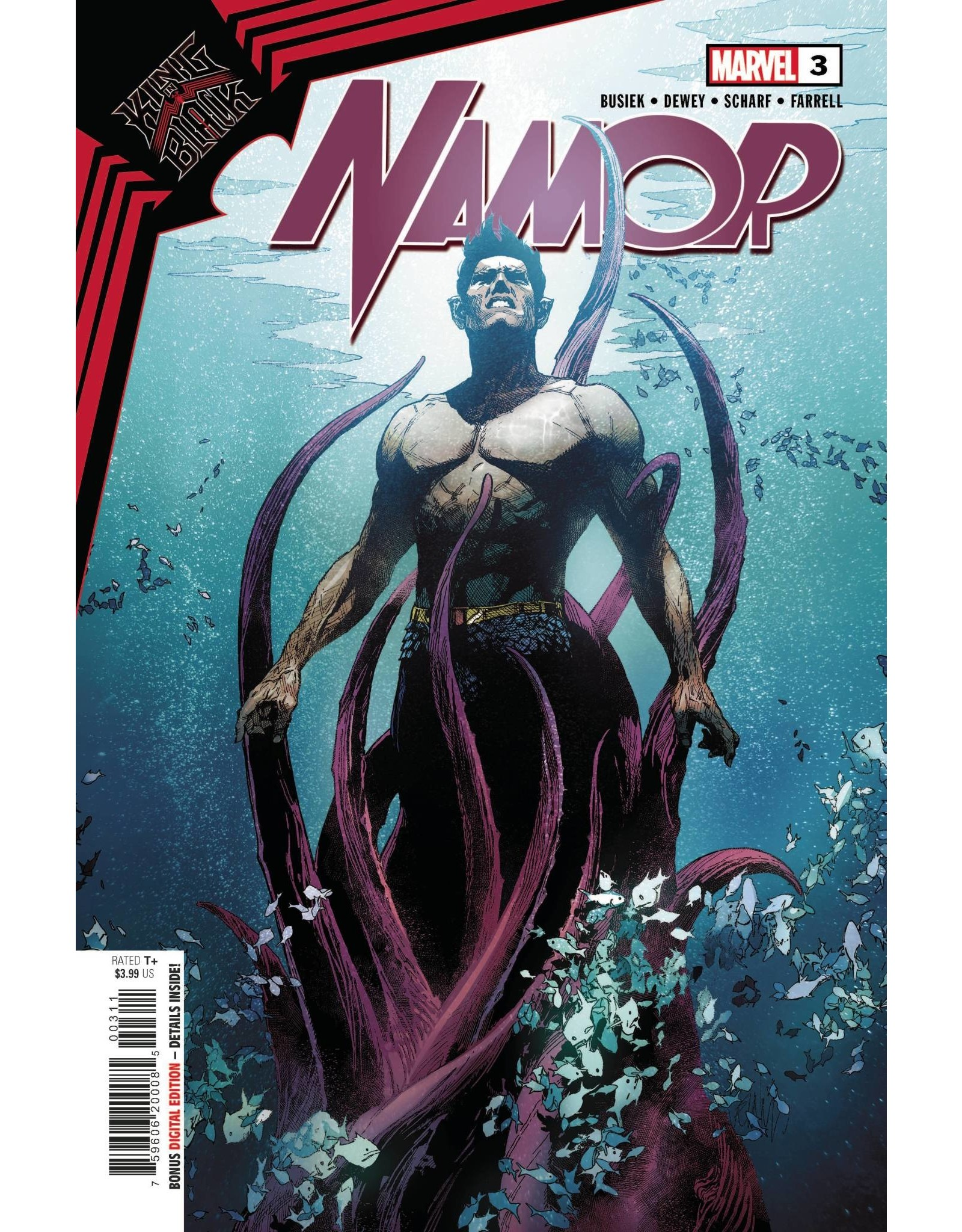 Marvel Comics KING IN BLACK NAMOR #3 (OF 3)