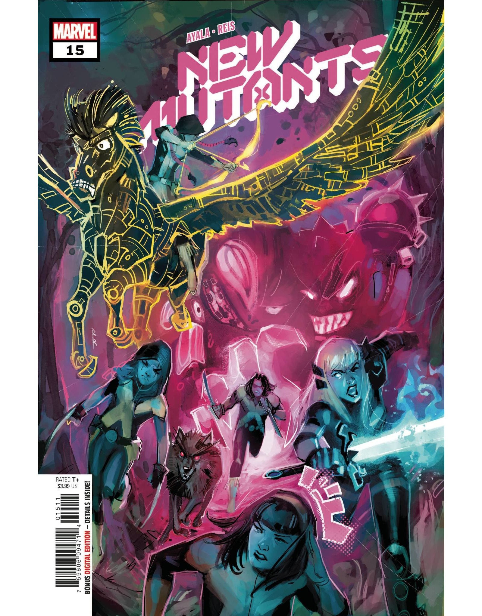 Marvel Comics NEW MUTANTS #15