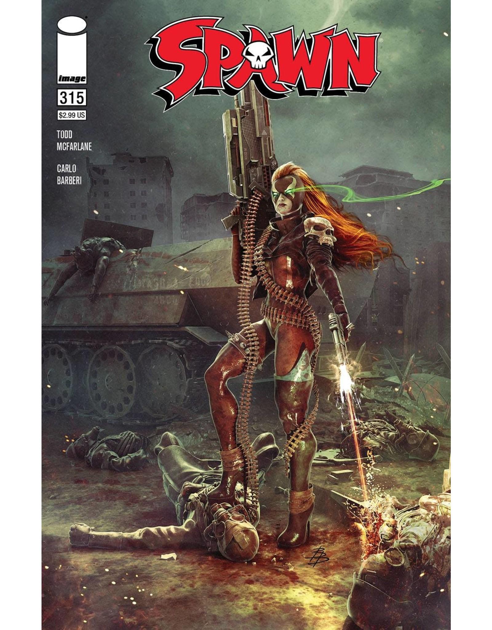 Image Comics SPAWN #315 CVR A BARENDS