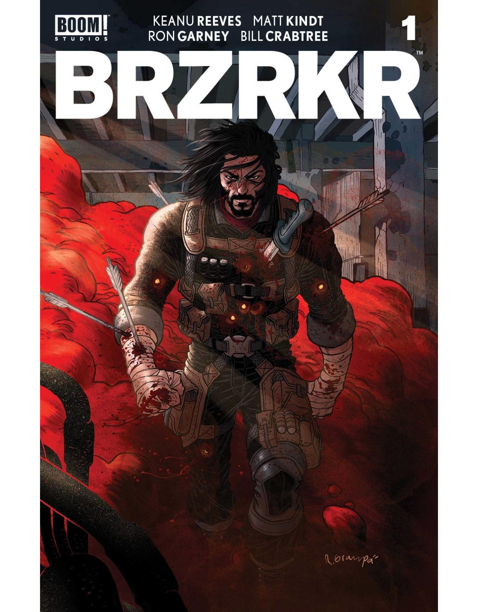 Boom! Studios PRE-SALE BRZRKR (BERZERKER) #1 CVR C GRAMPA FOIL