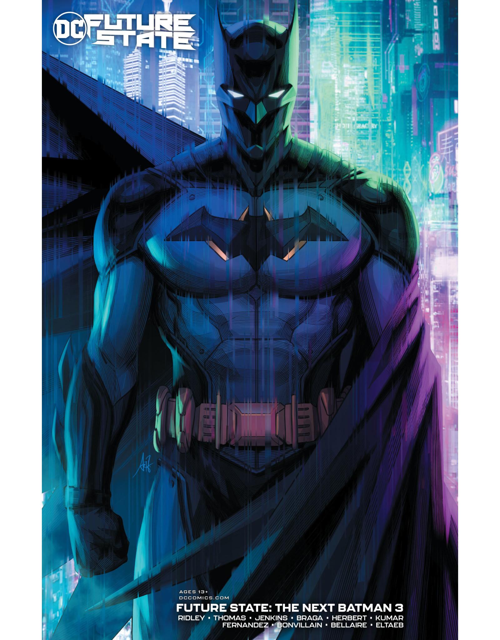 DC Comics FUTURE STATE THE NEXT BATMAN #3 (OF 4) CVR B STANLEY ARTGERM LAU CARD STOCK VAR