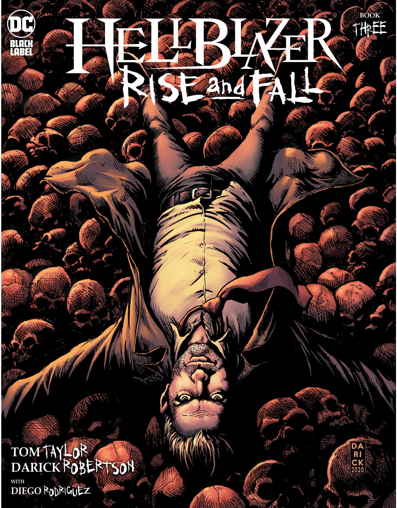 DC Comics HELLBLAZER RISE AND FALL #3 (OF 3) CVR A DARICK ROBERTSON (MR)