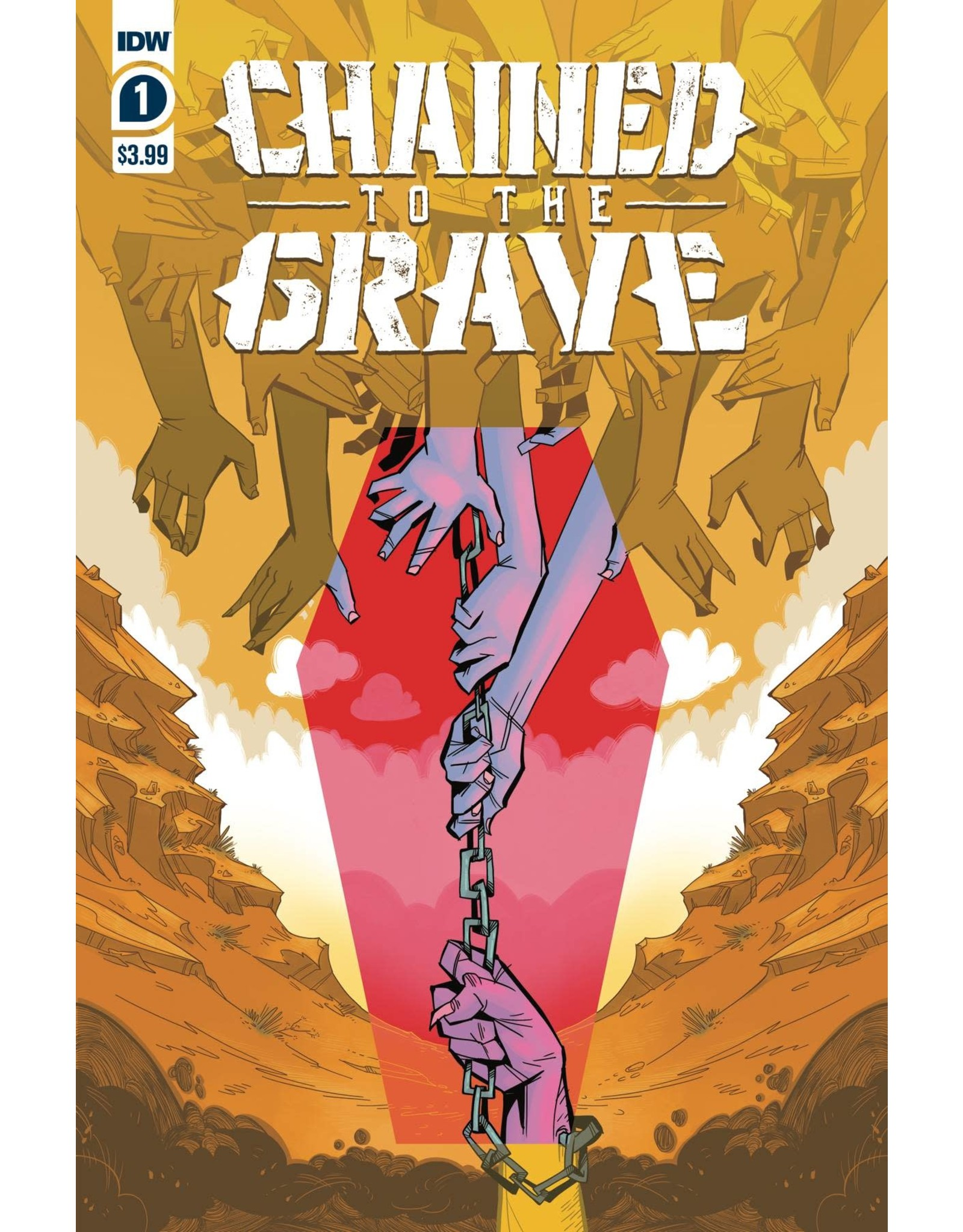 IDW PUBLISHING CHAINED TO THE GRAVE #1 (OF 5) CVR A SHERRON