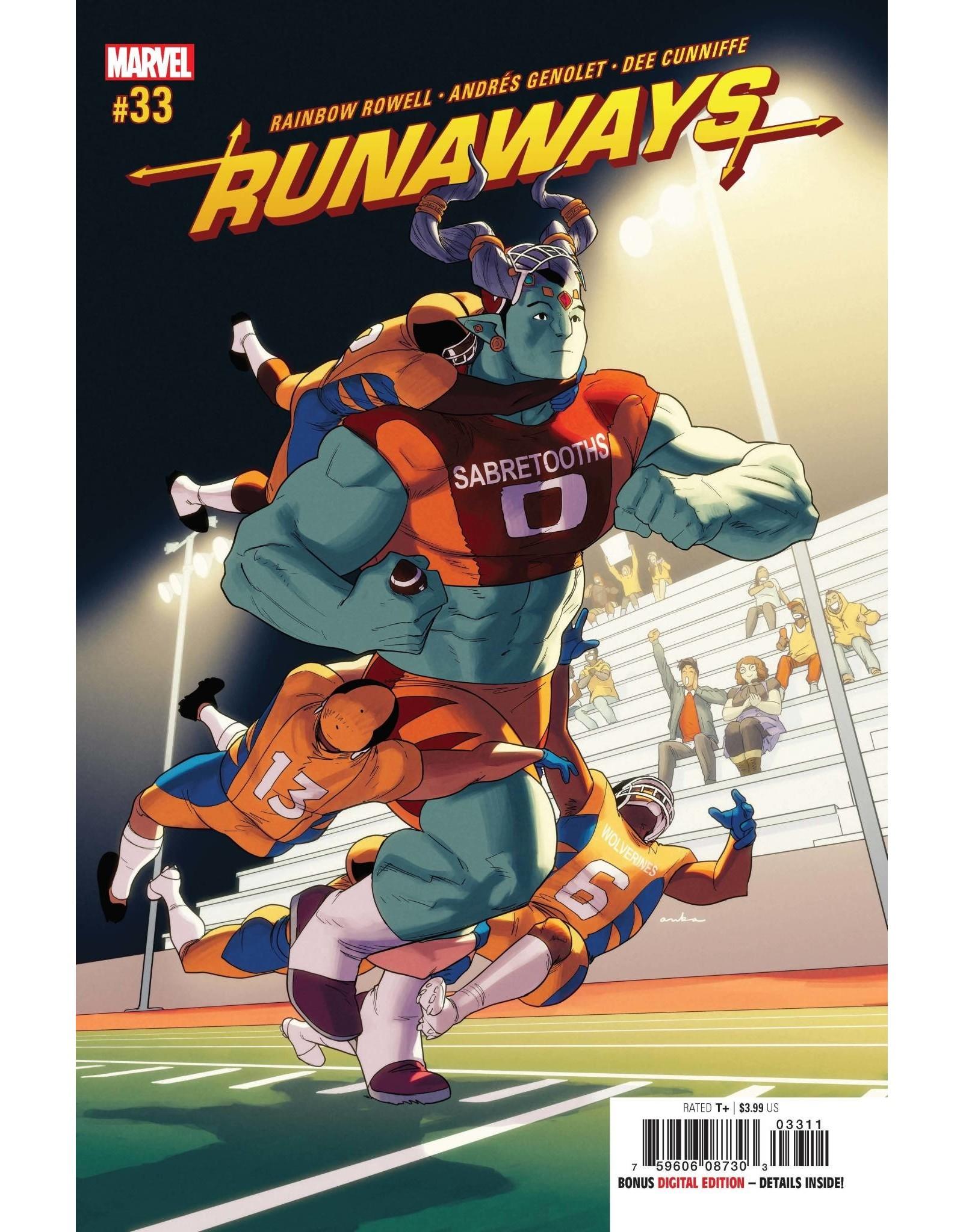 Marvel Comics RUNAWAYS #33