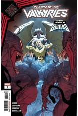 Marvel Comics KING IN BLACK RETURN OF VALKYRIES #2 (OF 4)