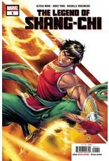 Marvel Comics LEGEND OF SHANG-CHI #1