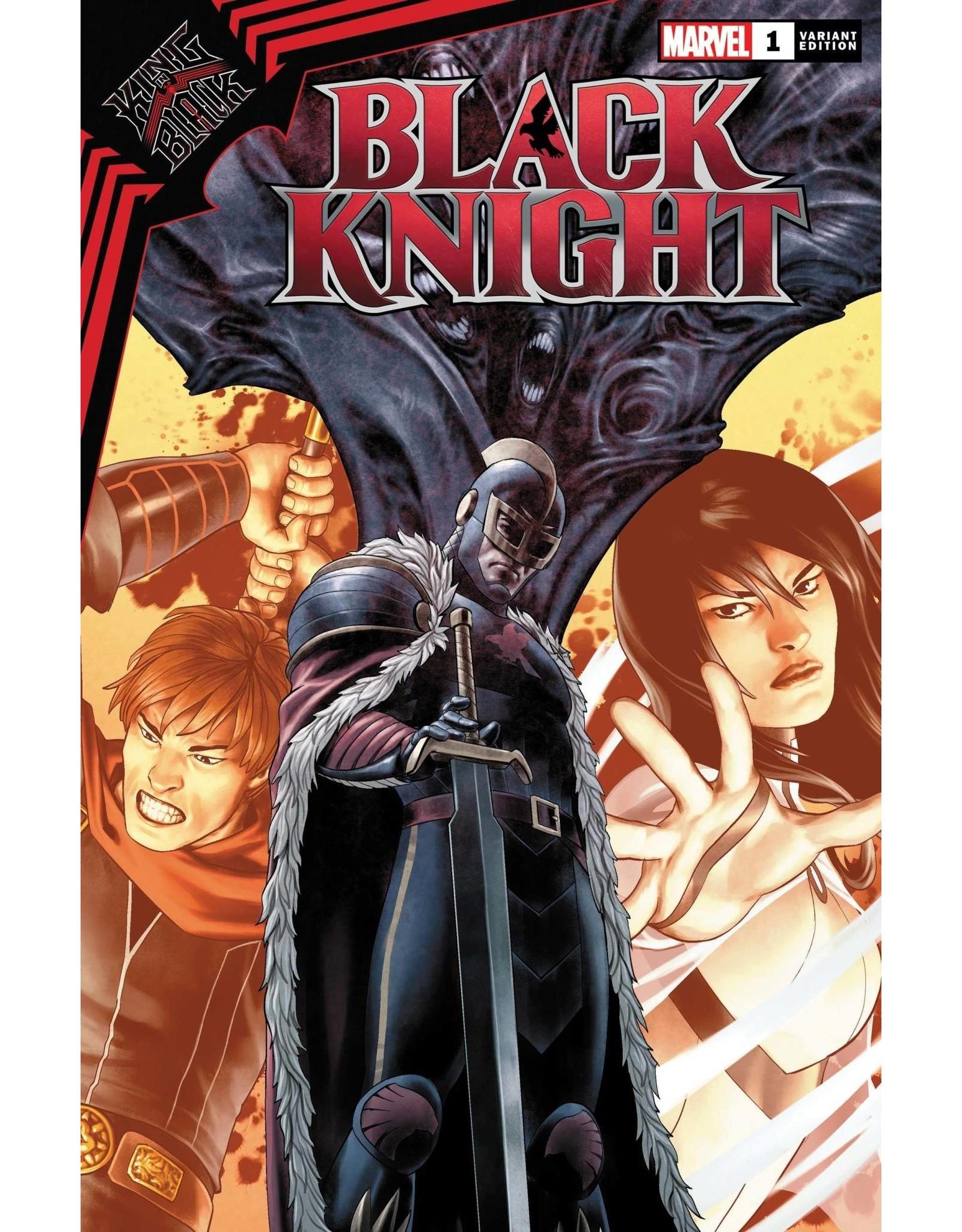 Marvel Comics KING IN BLACK BLACK KNIGHT #1 SAIZ VAR