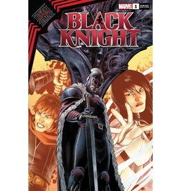 Marvel Comics KING IN BLACK BLACK KNIGHT #1 SAIZ VAR