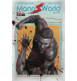 ARTISTS WRITERS & ARTISANS INC MANNS WORLD #2 CVR A RAHZZAH