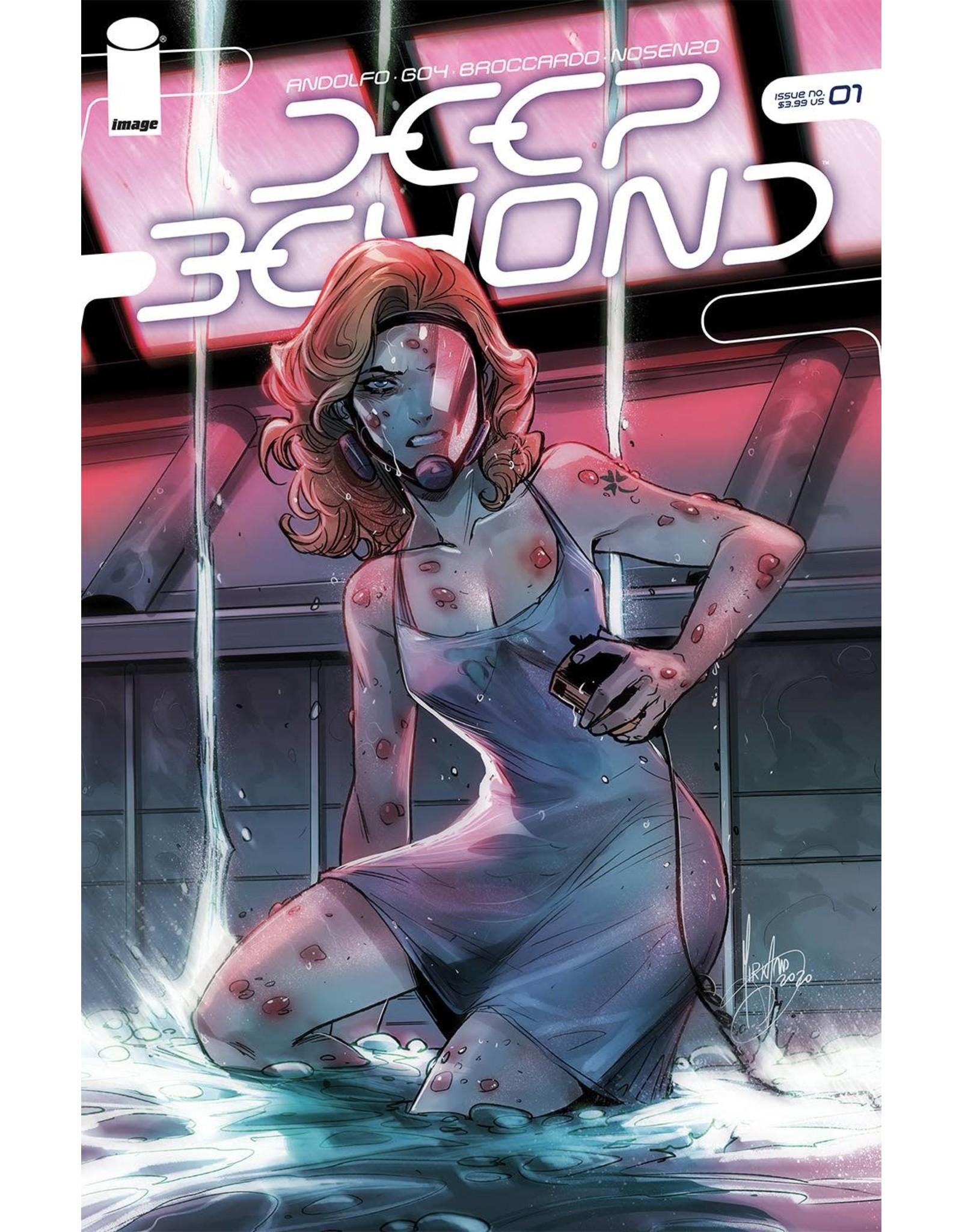 Image Comics DEEP BEYOND #1 (OF 12) CVR B ANDOLFO
