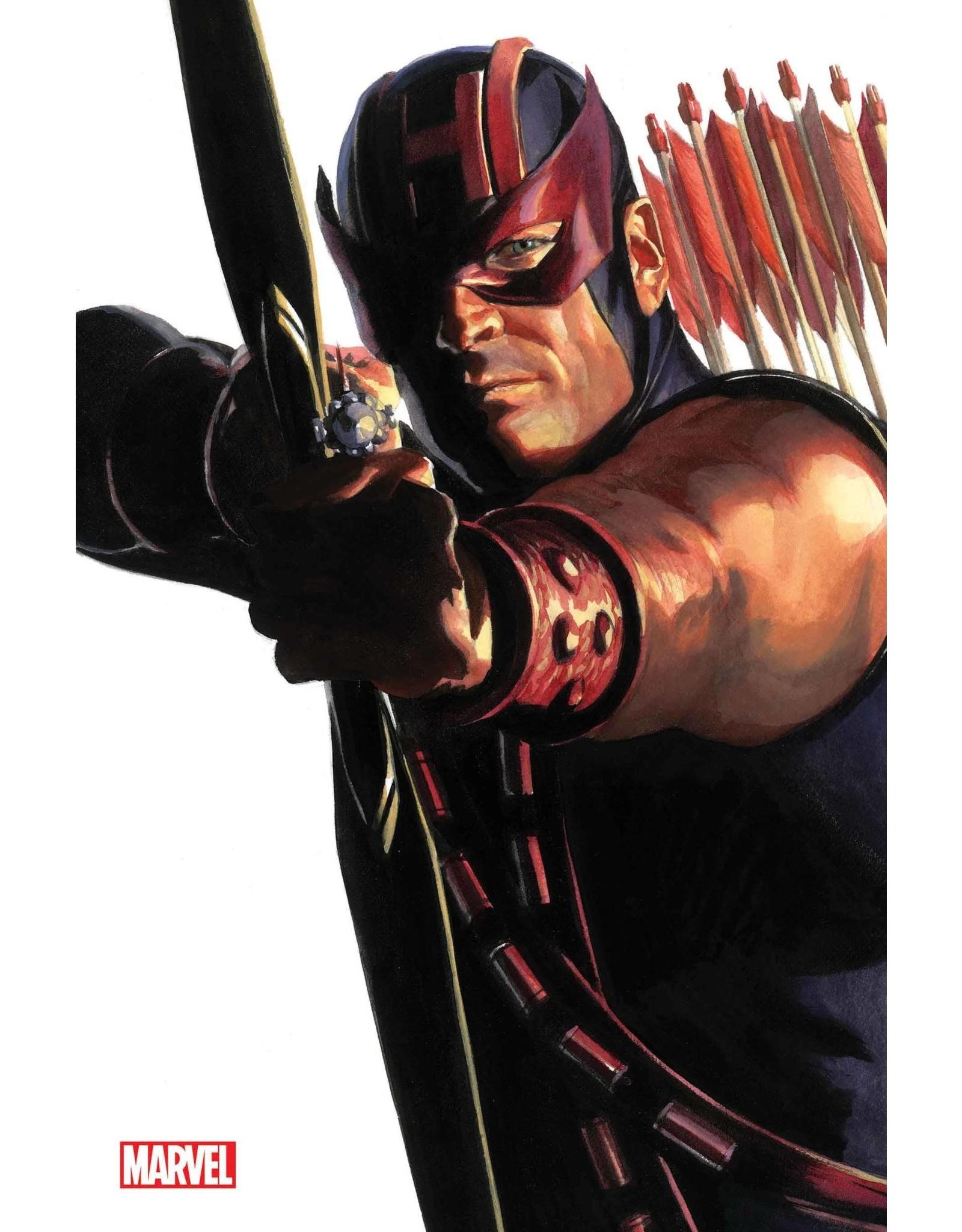 Marvel Comics AVENGERS #42 ALEX ROSS HAWKEYE TIMELESS VIRGIN VAR