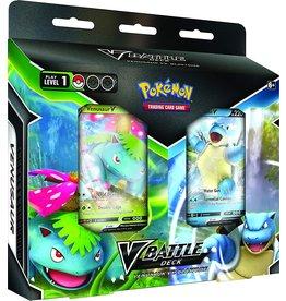 Pokemon Pokemon Trading Card Game: V Battle Deck Venusaur VS. Blastoise Deck Bundle