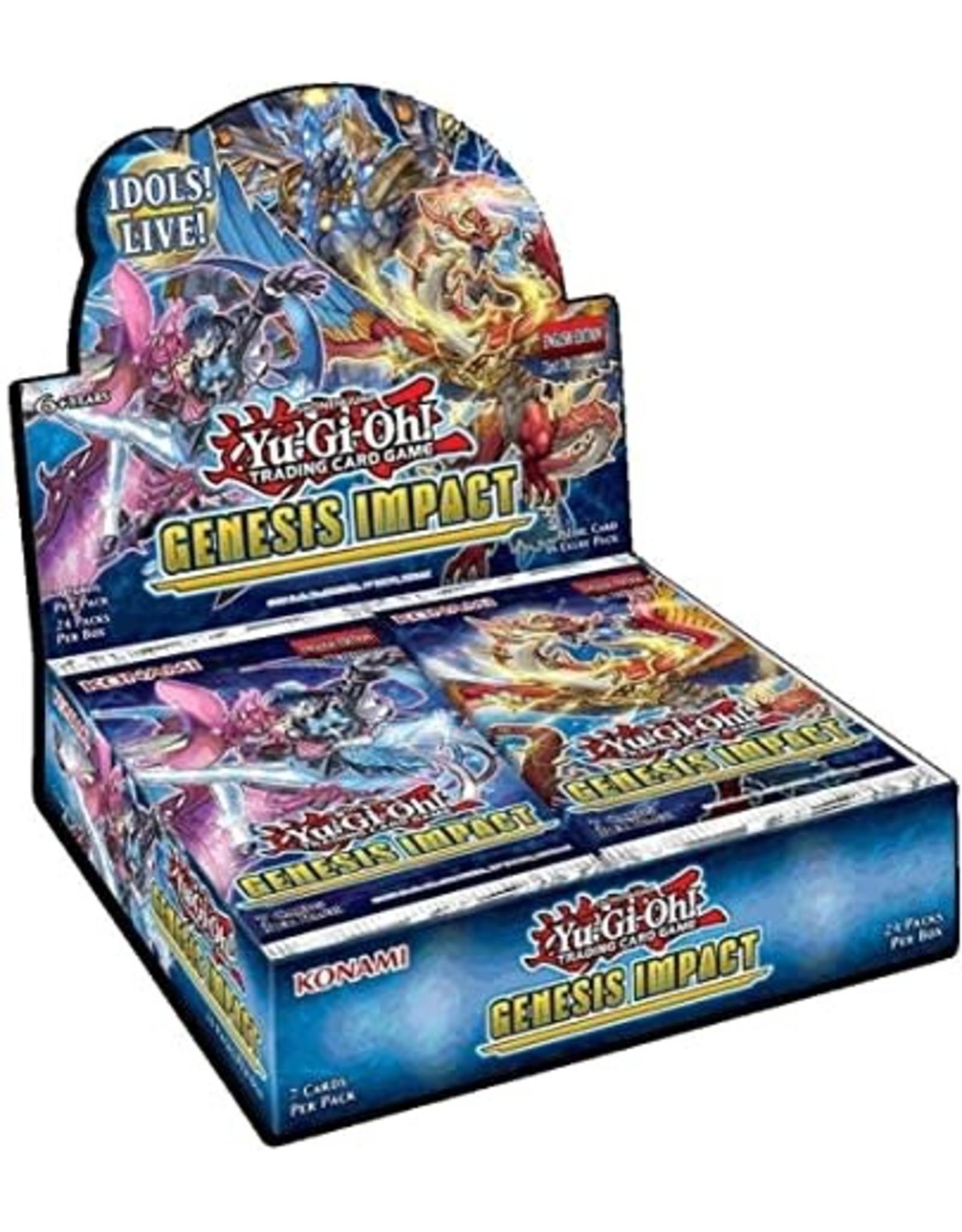 Konami Yu-Gi-Oh! Genesis Impact Booster Box