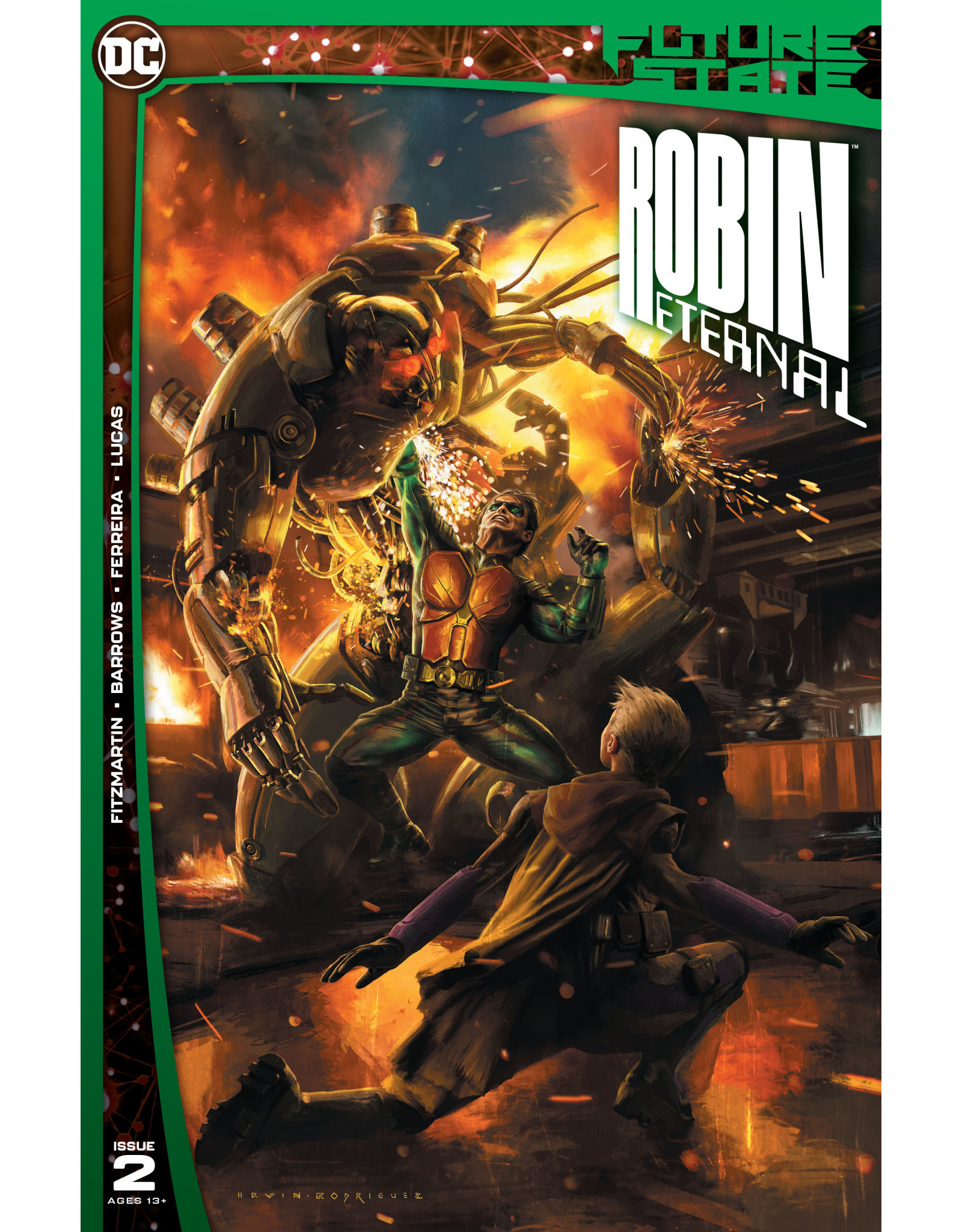 DC Comics FUTURE STATE ROBIN ETERNAL #2 (OF 2) CVR A EMANUELA LUPACCHINO & IRVIN RODRIGUEZ