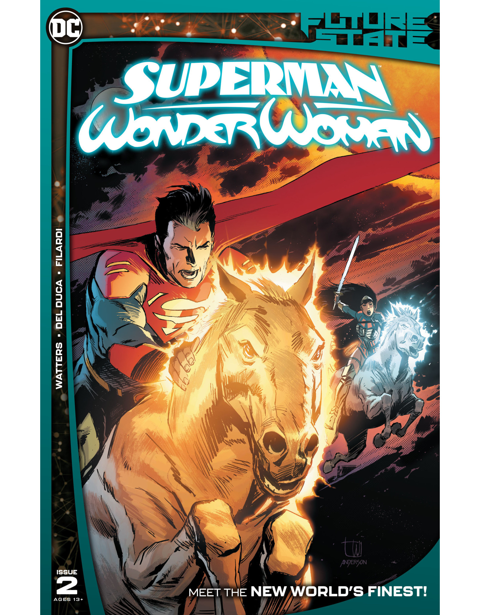DC Comics FUTURE STATE SUPERMAN WONDER WOMAN #2 (OF 2) CVR A LEE WEEKS
