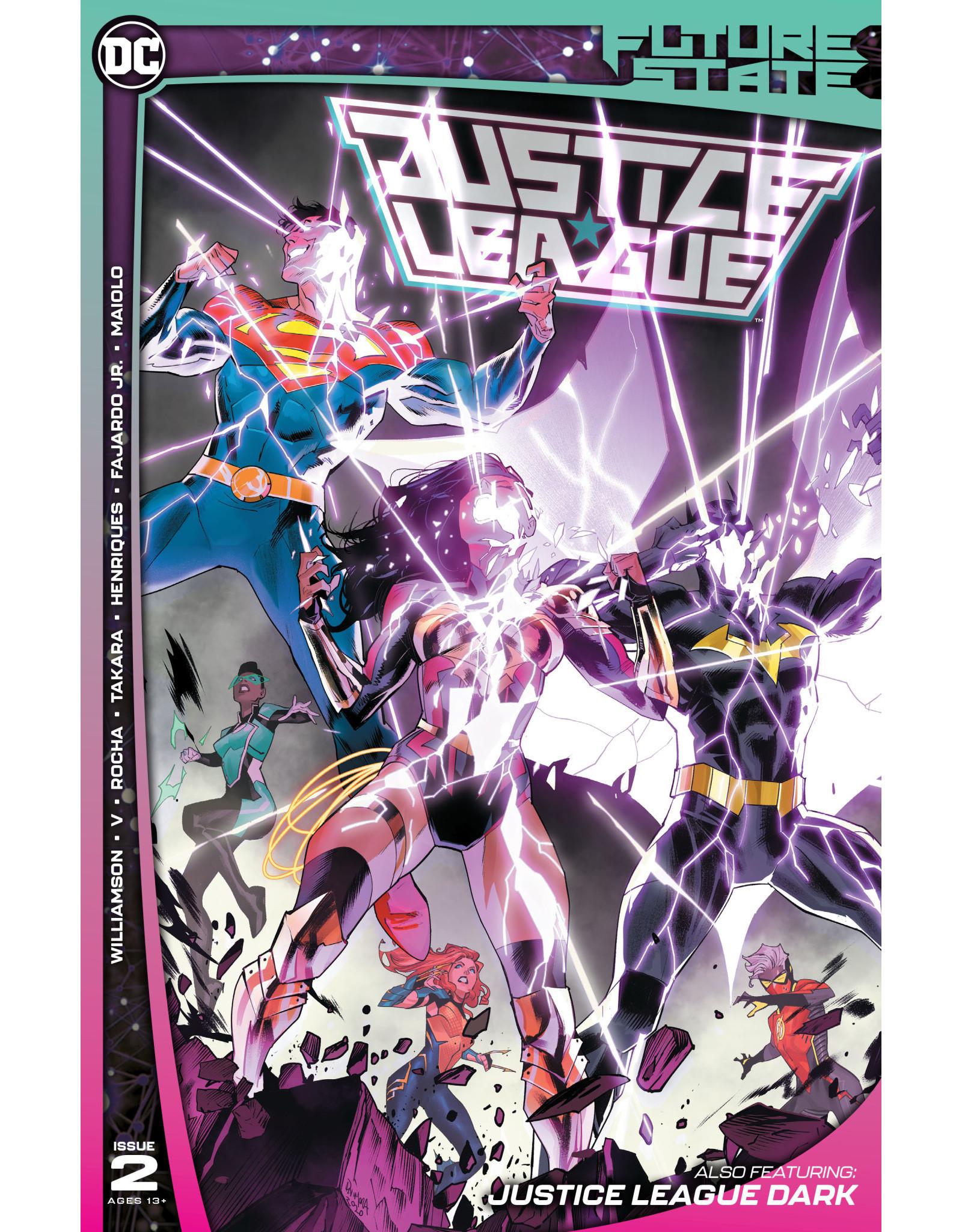 DC Comics FUTURE STATE JUSTICE LEAGUE #2 (OF 2) CVR A DAN MORA
