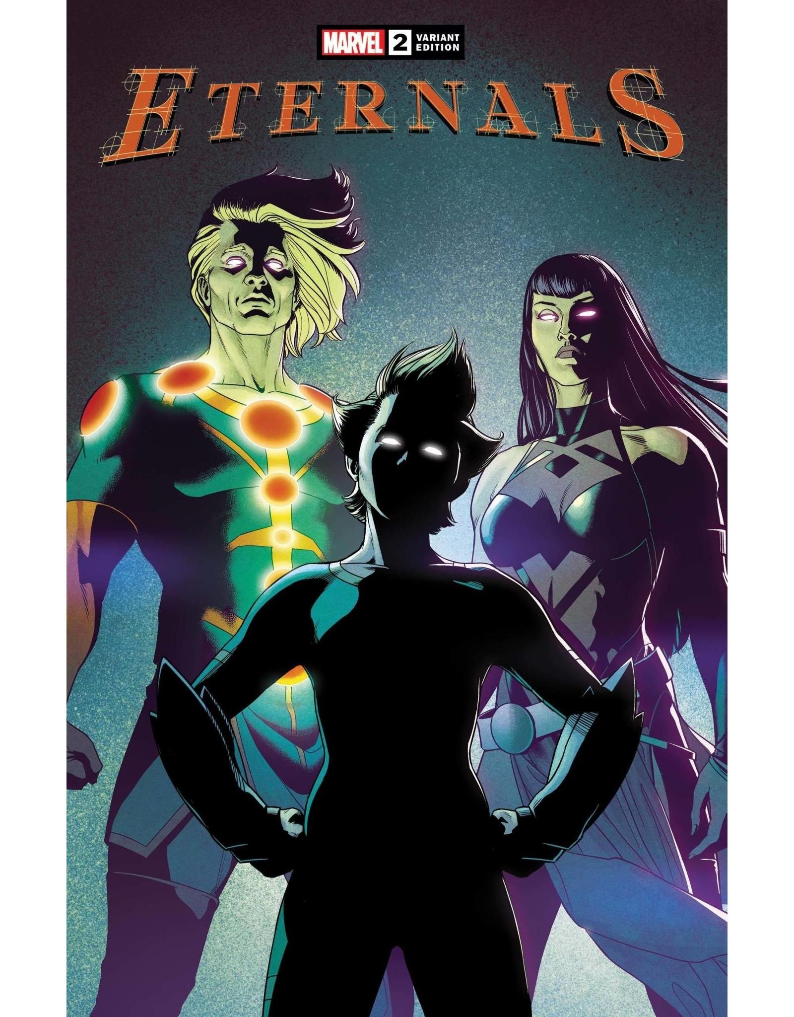 Marvel Comics ETERNALS #2 MCKELVIE VAR