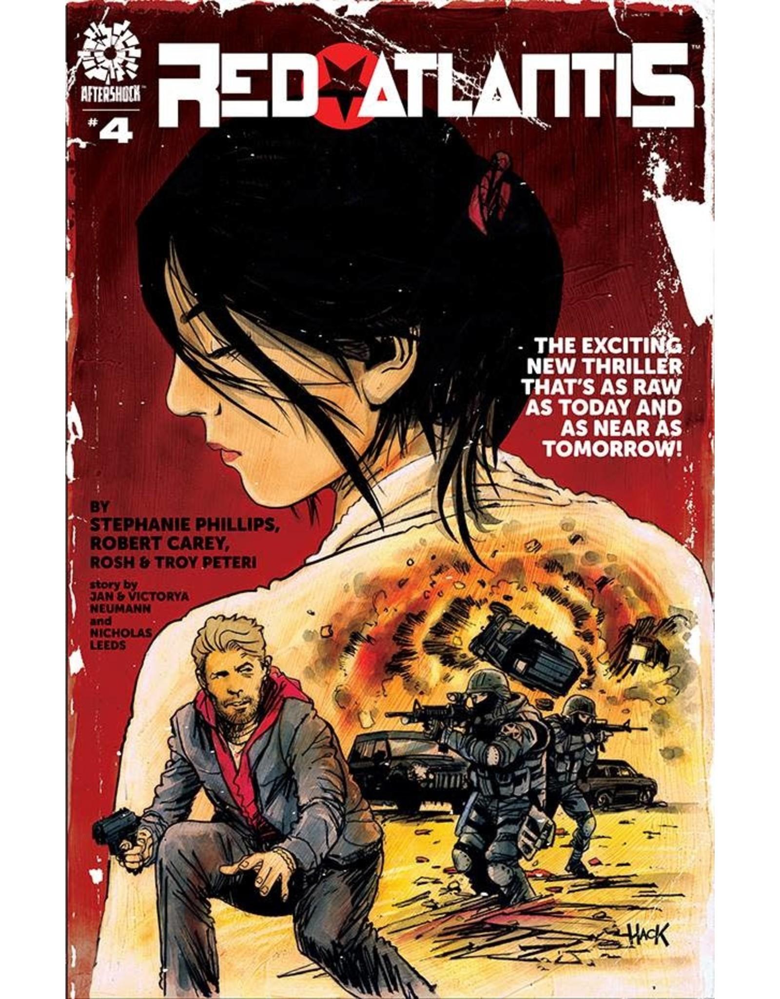AFTERSHOCK COMICS RED ATLANTIS #4