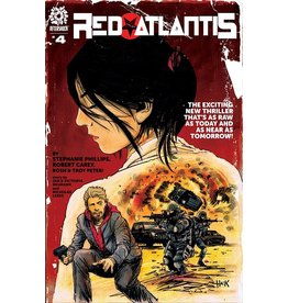 AFTERSHOCK COMICS RED ATLANTIS #4