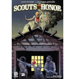 AFTERSHOCK COMICS SCOUTS HONOR #2