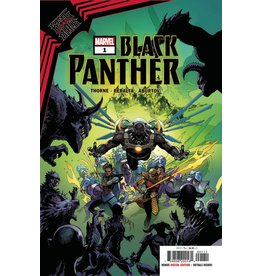 Marvel Comics KING IN BLACK BLACK PANTHER #1