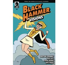 BLACK HAMMER VISIONS #1 (OF 8) HERNANDEZ STEWART VAR ED