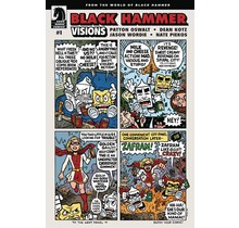 BLACK HAMMER VISIONS #1 (OF 8) EVAN DORKIN VAR ED