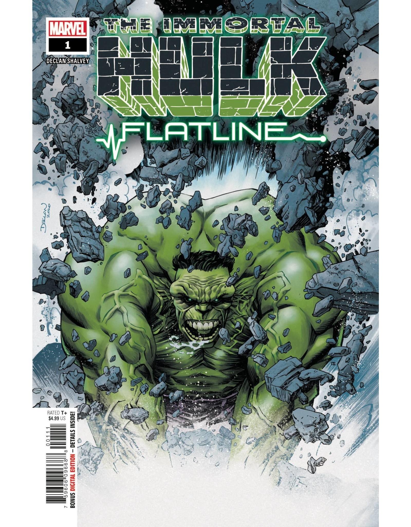 Marvel Comics IMMORTAL HULK FLATLINE #1