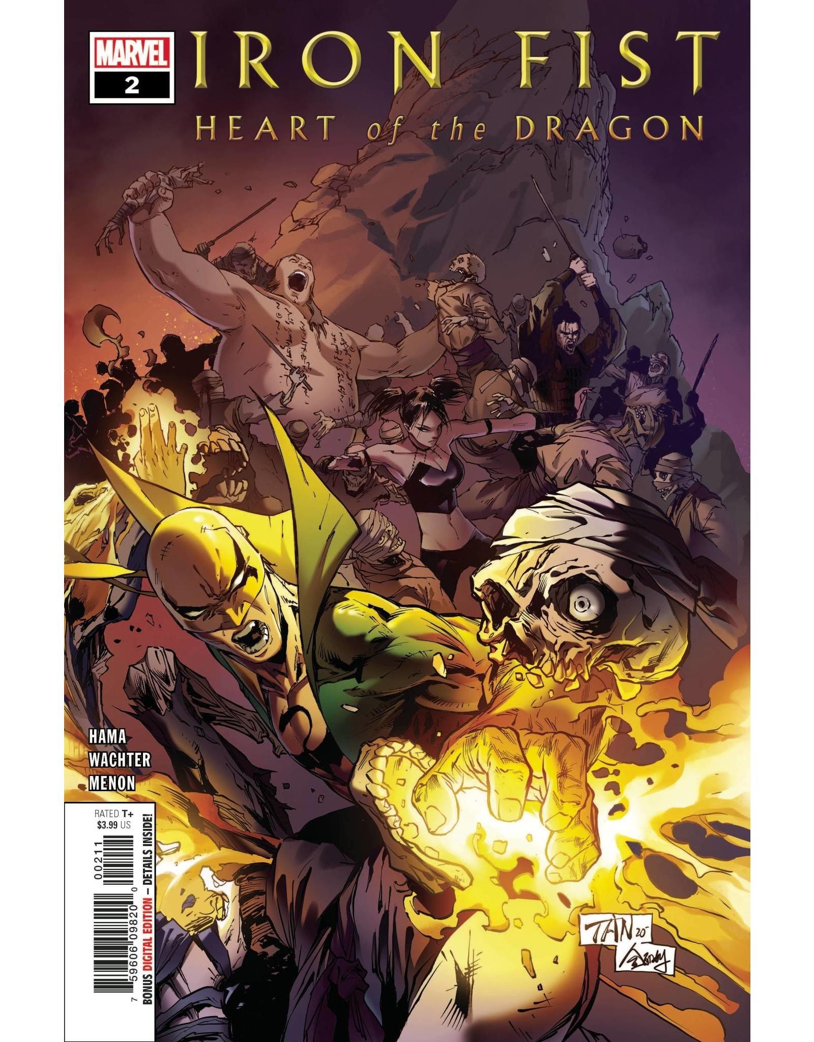 Marvel Comics IRON FIST HEART OF DRAGON #2 (OF 6)