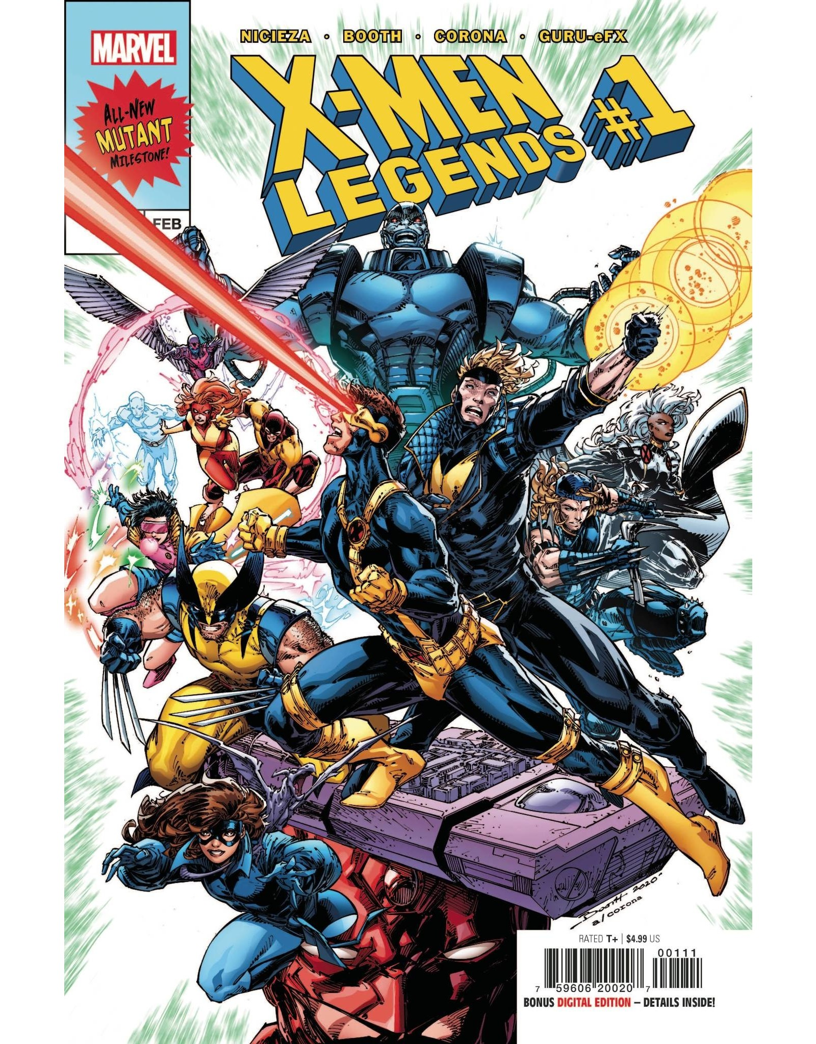 Marvel Comics X-MEN LEGENDS #1