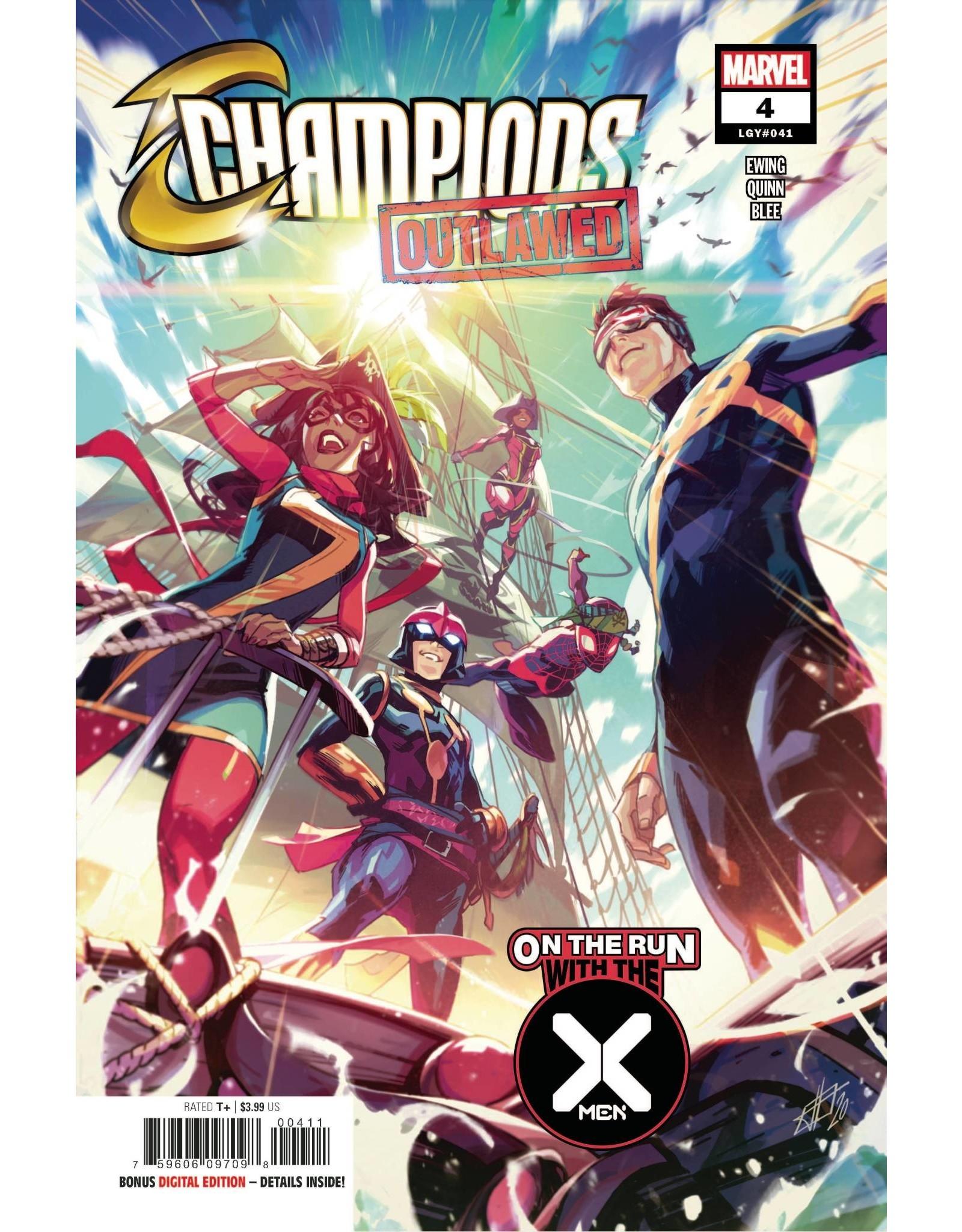 Marvel Comics CHAMPIONS #4