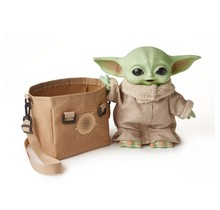Star Wars The Child Plush Toy, 11-In Yoda Baby Figure From The Mandalorian
