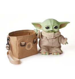 Mattel Star Wars The Child Plush Toy, 11-In Yoda Baby Figure From The Mandalorian