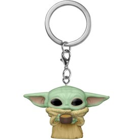 Funko! Funko Pop! Keychain: The Mandalorian - The Child with Cup