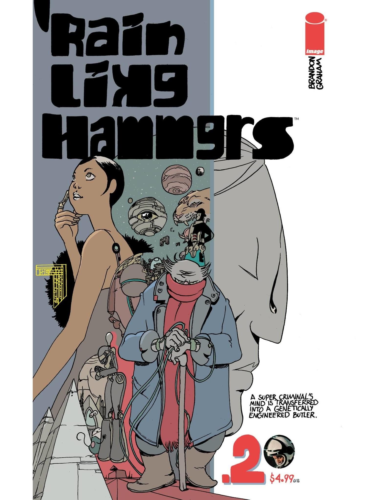Image Comics RAIN LIKE HAMMERS #2 (OF 5)