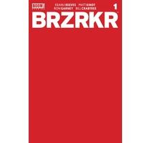 BRZRKR (BERZERKER) #1 CVR F 1:10 RED BLANK SKETCH
