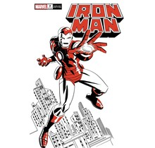 IRON MAN #7 MICHAEL CHO IRON MAN TWO-TONE VAR