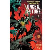 ONCE & FUTURE #17 CVR A MORA