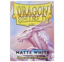 Dragon Shields: (100) Matte White