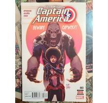Sam Wilson: Captain America #3 VF/NM