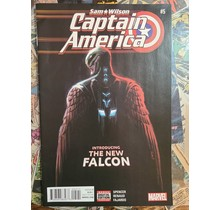 Sam Wilson: Captain America #5 2nd Torres FN+