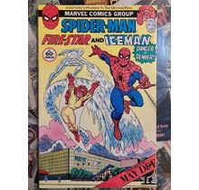 Spider-man Fire-Star and Iceman MAY D&F special FN+
