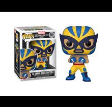 Marvel Lucha Libre: El Animal Indestructible (Wolverine) Pop Figure
