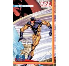HEROES REBORN #3 (OF 7) BAGLEY TRADING CARD VAR