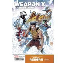 HEROES REBORN WEAPON X AND FINAL FLIGHT #1 YARDIN VAR