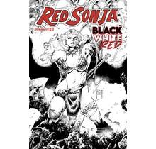 RED SONJA BLACK WHITE RED #1 CVR E 1:10 TAN LINE ART