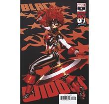 BLACK WIDOW #9 BROOKS CAPTAIN AMERICA 80TH VAR