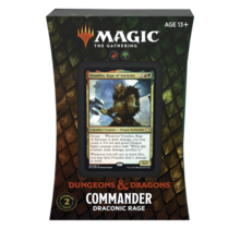 Magic the Gathering: Adventures in The Forgotten Realms Commander Deck – Draconic Rage