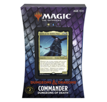 Magic the Gathering: Adventures in The Forgotten Realms Commander Deck – Dungeons of Death