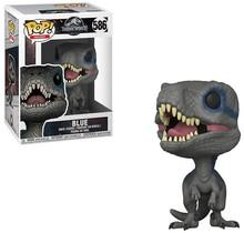 Funko Pop Movies: Jurassic World 2 - Blue, Velociraptor Collectible Figure, Multicolor